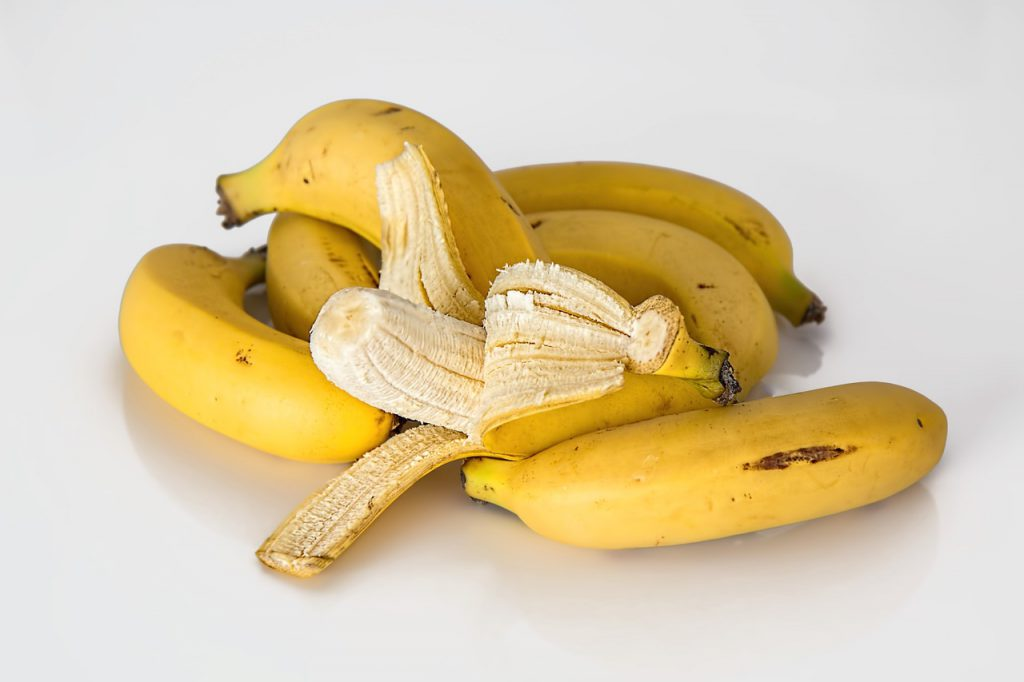 banana é bom para cãibra