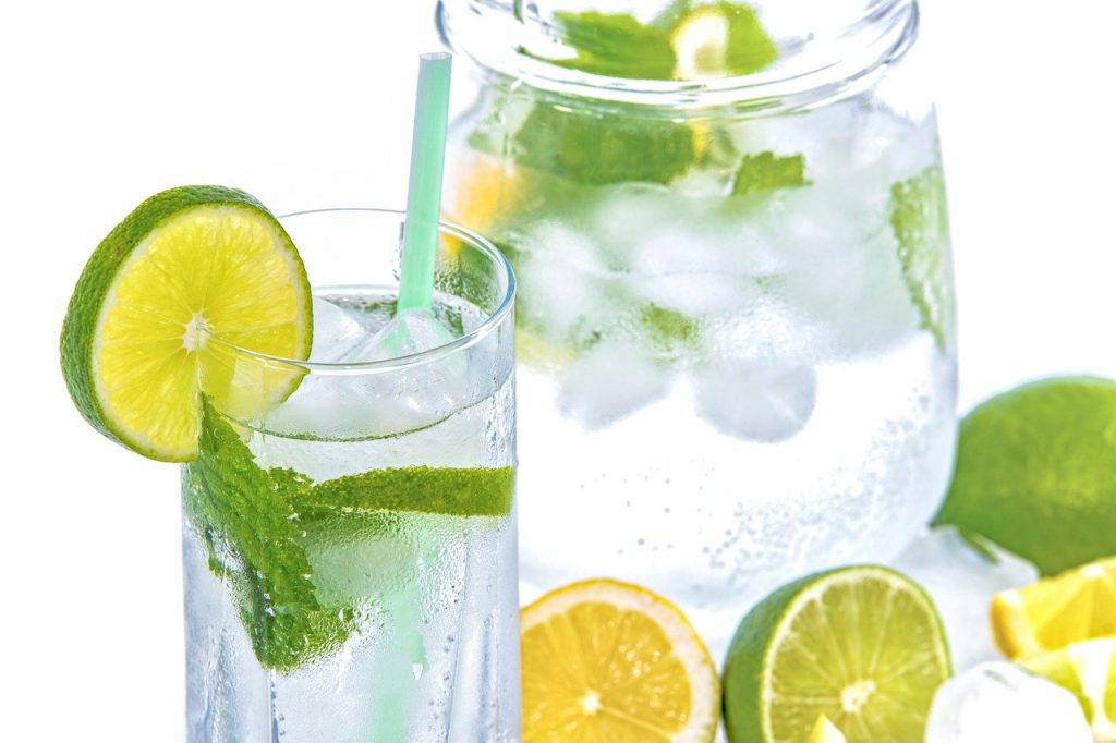 suco de limão para reduzir o doce