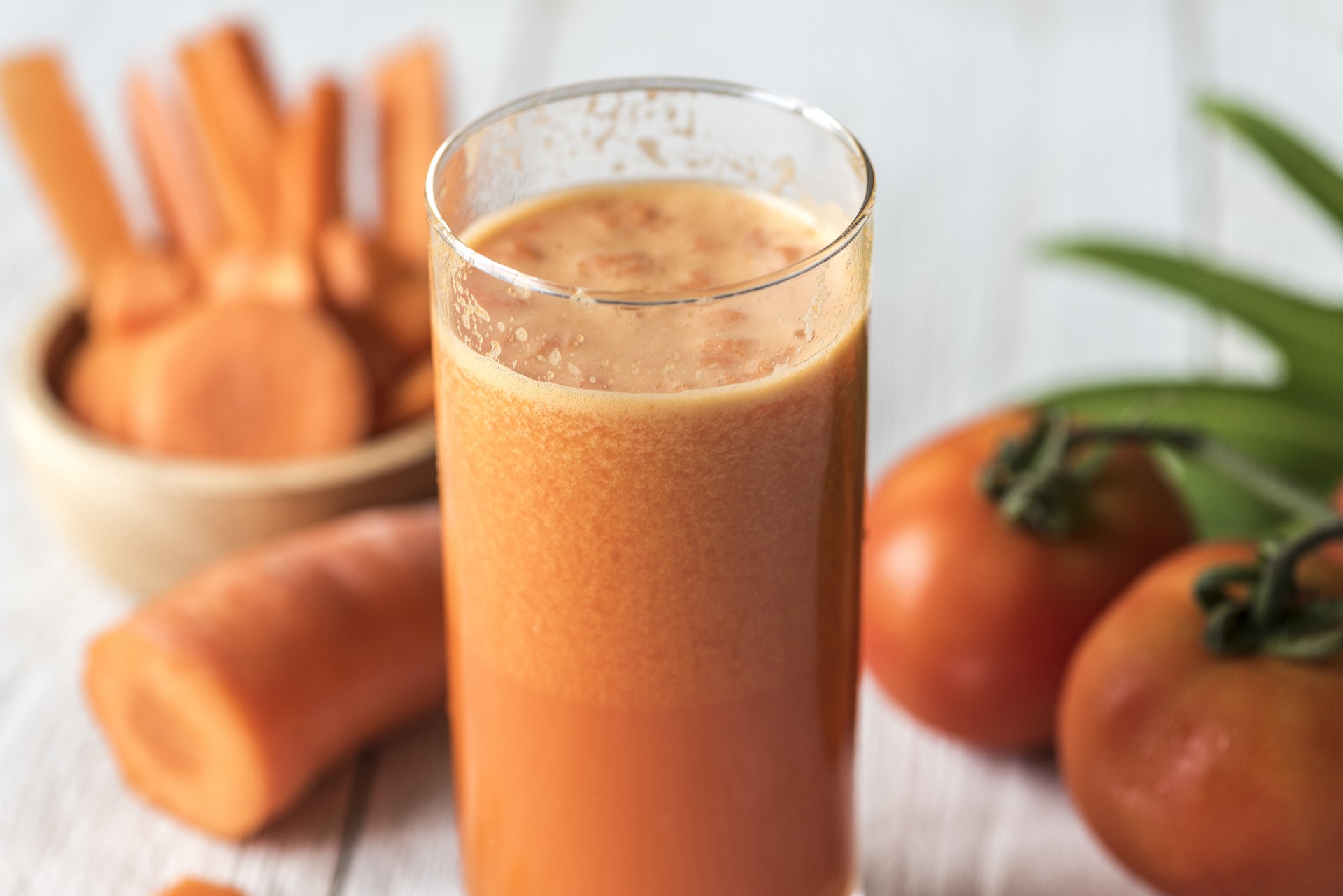 Suco detox de cenoura!