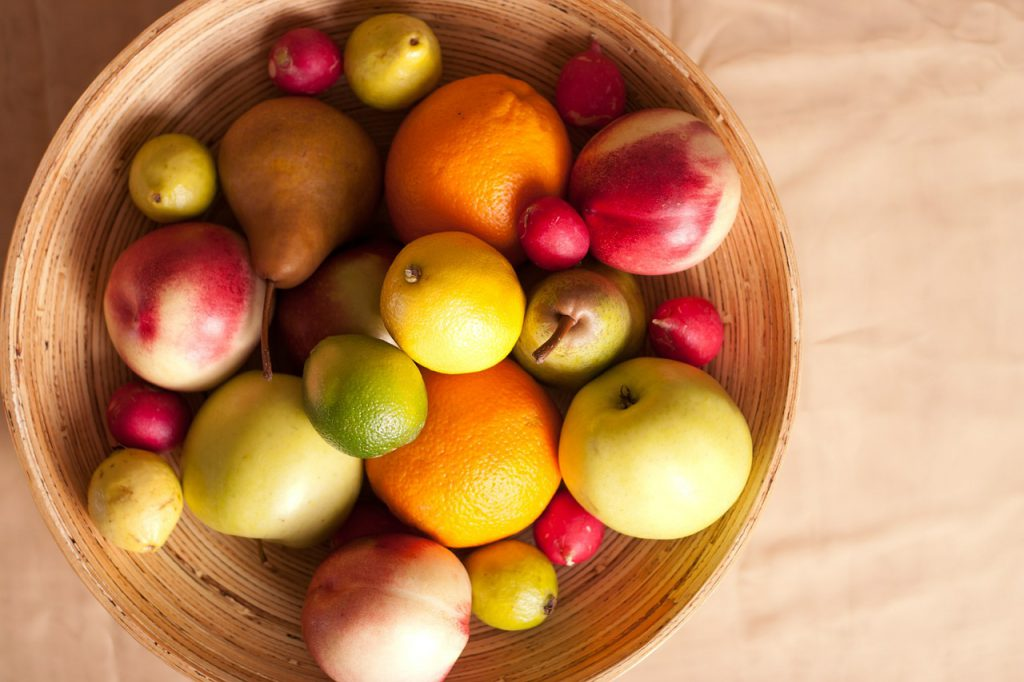 frutas ricas em polifenóis
